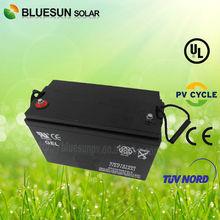 Deep cycle high quality 12V 100AH vrla batteries