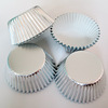 Big Stock Classical colorful Foil sliver cupcake liners for wedding