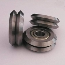 stainless steel V groove bearing RM2ZZ W2 W2X