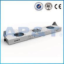 AP-DJ2103 Static eliminator overhead ionized air fan balance machine for clover roots blower