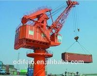 Electrical Hoist Single Girder Floating Dock Portal Gantry Crane
