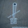 Hot dip galvanized Cuplock scaffolding system Base Jack