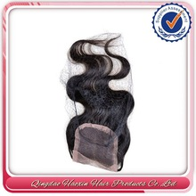 Heavy Density For Women Brazilian Virgin Hair New Products Top Lace Closure