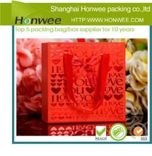 2014 new fashion high quality reusable christmas shopping bag