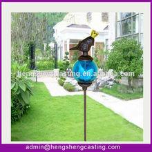 metal antique animal hose guard