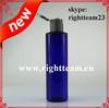 cosmetics cobalt blue bottles ,empty bottle pet, cosmetics bottles