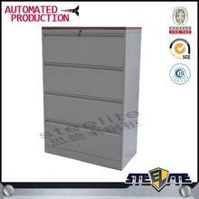 Large Storage Wood Top Stainless Steel File Cabinets