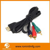 1.5M 3.5mm hdmi male to 5 rca rgb cable