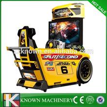 32'' 4D Out Run full motion simulator car,4d driving car driving simulator