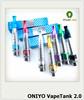 2014 hight quality products glass atomizer Oniyo 2.0 airflow control vapetank 2.0 kit online shopping