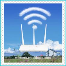 tenda 2.4G 11n qos vpn n300 wireless router 3T3R