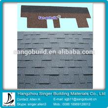Top sale Building materials factory villa roof bitumen tile system