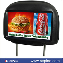 "9"" android 3g/WiFi taksi ekran arka koltukta araba reklam tv"