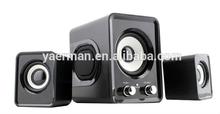 best 2.1 speaker with USB/SD/LED/FM/remote! 2.1 active speaker big subwoofer! 2.1 speaker ym-808