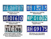 Advertising license plate mi car plate number / aluminum gold supplier in Alibaba HH-licence plate /Reflective license plate num