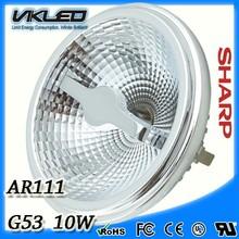 high power led lighting AR111 G53 10W 2014 hot sell