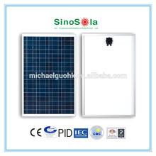 100w 18v solar panel with TUV/IEC61215/IEC61730/CEC/CE/PID