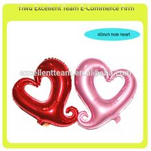 "40""hollow heart balloon, foil balloon,wedding balloon"