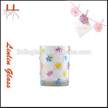 Transparent cup candle vase tea cup on sale