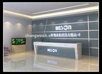 OEM 2014 on sale spa salon cheap price bow front desk