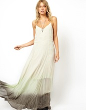 Maxi Dress In Dip Dye fashion 2012 summer