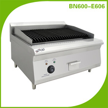 Stainless Steel Counter Top Electric Lava Rock Grill BN600-E606