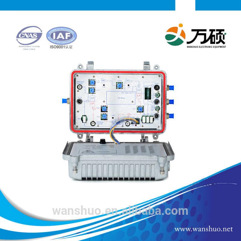 Catv amplifier power supply