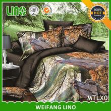 100% polyester 3d printed bedsheet manufacturer bed sheet fasteners