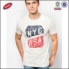 popular fashion printed custom men t shirt made in China