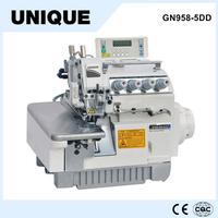 GN958-5DD 5-thread overlock sewing machine yamato overlock sewing machine