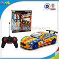 Controle remoto 1:18 4 funções cool racing car