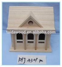 cheap bird house house shape wooden bird house