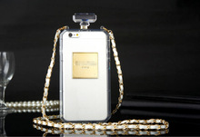 FASHION CC PERFUME BOTTLE CELL PHONE CASE FOR IPHONE 6 6 PLUS 5