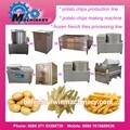 Alibaba profissional congelado batata varas máquina para venda