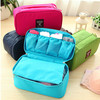 Multifunctional Korean fashion wash travel underwear storage bag , bulk cosmetic bag