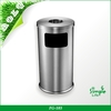 China supply new product design stainless steel low price trash can