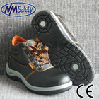 NMSAFETY lowest safety shoes type PVC footwear for man use for middle east market