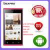 """D1000-4.0"""" LCD WVGA android cell phone dual camera smart phone"""