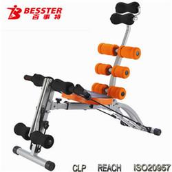 BEST JS-060SA Six pack care ab roller exercise fitness equipment for women