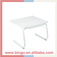 White Breakfast Bed Mate Portable Laptop adjustable table