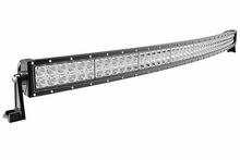 50 inch led driving light bar, auto led light arch bent, 288w curved led light bar