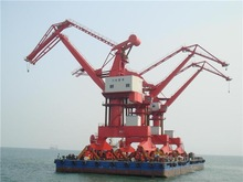5Ton,16Ton,40Ton Port Ship Building 360 Degree Pedestal Crane