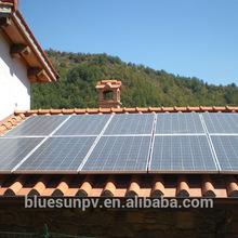 Solar system home application 270w polycrystalline solar panel with 10 years warranty