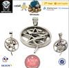Jewish pentacle pentagram pendant