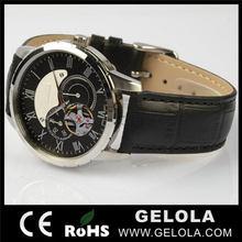 Económico mejor venta relojes piezas mecánicas, Cristal de reloj mecánico, 2014 antiguo del mecánico del reloj
