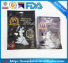 plastic packaging bags for fish/ heat seal plastic bag for smoked salmon