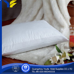 inflatable made in China 100% cotton antibacterial pu cheap wholesale pillows