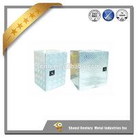 Professional trailer parts manufacturer high quality truck trailer aluminium alloy tool box