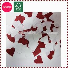 Paper Heart Confetti White Paper Confetti for Wedding Decoration