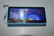 power bank with LED display ,customized picture Logo 4400mAh